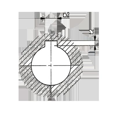 標準孔徑鍵槽加工規範參考